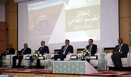 Meknès : Lancement officiel de la campagne agricole 2017-2018