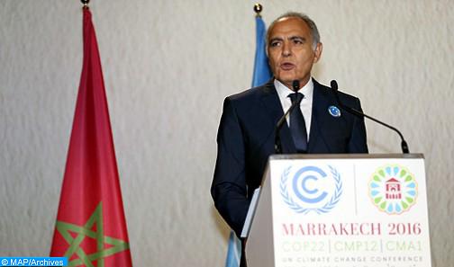 Présidée par un Etat insulaire, la COP23 doit réussir et s'inscrire dans la dynamique de Marrakech (Mezouar)