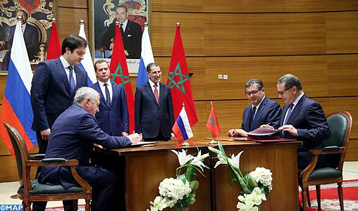 Signature de 11 accords de coopération entre le Maroc et la Russie
