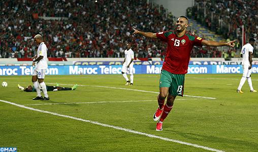 Coupe du monde 2018 qualifications africaines gr c victoire du maroc face au gabon 3 0 - Maroc qualification coupe du monde ...