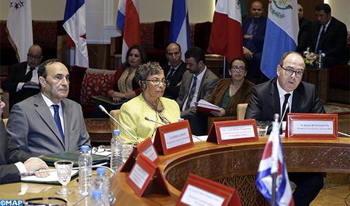 35-ème session du FOPREL: M. Benchamach plaide pour une politique mondiale capable de gérer les flux migratoires