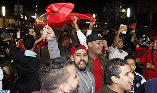 Explosion de joie à Casablanca et Mohammédia après la qualification du Maroc au Mondial-2018