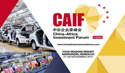 Marrakech abrite les 27 et 28 courant la 2ème édition du China-Africa Investment Forum