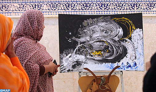 Exposition collective de onze peintres à Laâyoune