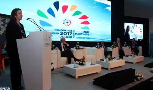 Les régions ont un rôle clé à jouer dans le développement et la stabilité de la Méditerranée (Mme Afailal)