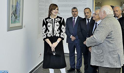 SAR la Princesse Lalla Salma préside au Musée Mohammed VI d'art moderne et contemporain une cérémonie d'hommage à la mémoire de l'artiste Mohamed Amine Demnati
