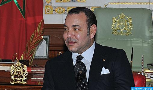 SM le Roi félicite le Président roumain à l'occasion de la fête nationale de son pays