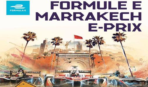 Course automobile: Le 2è E-prix, le 13 janvier 2018 à Marrakech