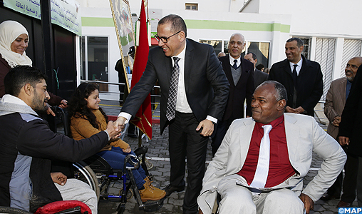 INDH: Inauguration à Casablanca d'un Centre d'orientation et de soutien dédié aux personnes à besoins spécifiques