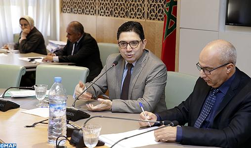 M. Bourita réitère la solidarité constante du Maroc avec le peuple palestinien dans la défense de ses droits légitimes