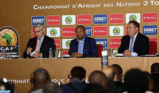 CHAN-2018: Le Maroc a réuni toutes les conditions nécessaires pour assurer la réussite de la 5ème édition (Président CAF)