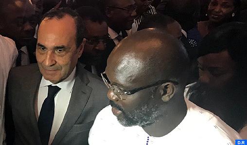 M. Habib El Malki représente SM le Roi à la cérémonie d'investiture du président libérien George Weah
