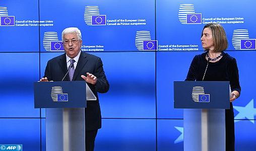 """Conflit israélo-palestinien : Mme Mogherini réitère le soutien de l'UE à une solution à deux Etats """"avec Jérusalem comme capitale partagée"""""""