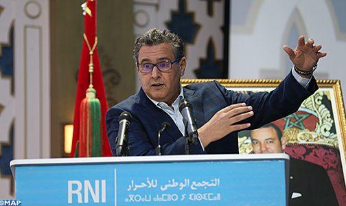 Le président du RNI expose à Fès les principaux aspects de la réforme des secteurs sociaux