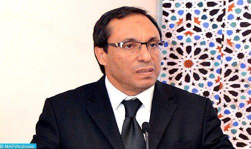 Guelmim: M.Amara s'informe de l'état d'avancement des travaux de réalisation de deux tronçons de la voie express Tiznit-Laâyoune