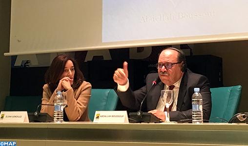"""Abdellah Boussouf présente à Madrid la traduction en espagnol de son livre """"L'Islam et le commun universel"""""""