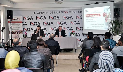 L'alphabétisation numérique, un facteur clé pour le positionnement du Maroc en tant que pôle de compétitivité digitale (conférence)