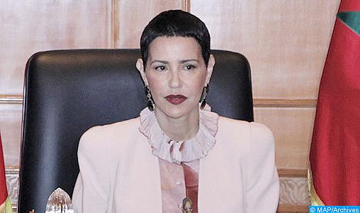 """SAR la Princesse Lalla Meryem préside à Rabat la cérémonie de clôture de la rencontre """"Femme et enfant en situation de précarité"""""""