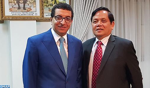 Le Cambodge affirme son soutien à la candidature du Maroc au statut de Partenaire de dialogue sectoriel auprès de l'ASEAN