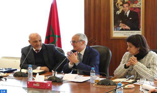 La relance du secteur de la construction au centre d'entretiens entre M. Fassi Fihri et des organisations professionnelles