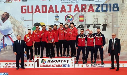 Open de Guadalajara de karaté (Série A) : Le Maroc remporte la médaille d'or en kata par équipe