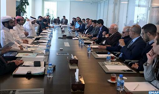 Des investisseurs marocains et qataris examinent à Doha des propositions de projets de partenariat