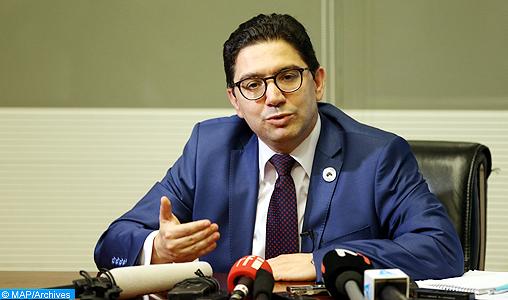 """Le Maroc partage les objectifs de la Coalition internationale contre l'EI et demeure convaincu que la nature de la menace exige """"une approche globale, coopérative et solidaire"""" (M. Bourita)"""