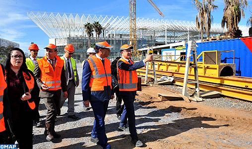 Les travaux de la gare de Rabat-Agdal seront achevés en juin 2018
