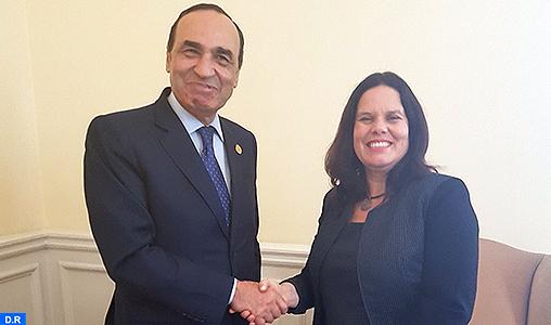 Maroc-Chili: El Malki plaide en faveur de l'élaboration d'un plan d'action pour consolider les relations entre les institutions législatives des deux pays