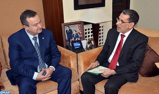 Le Maroc et la Serbie veulent raffermir leurs relations de coopération
