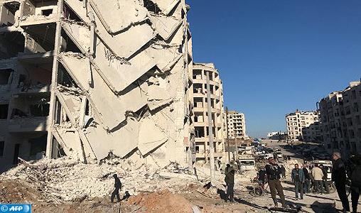 Syrie: 20 civils tués dans la ville de Douma en 24h