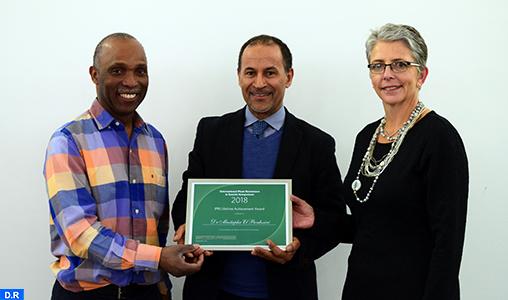 """Le scientifique marocain Mustapha El Bouhssini reçoit en Angleterre le """"Prix d'Excellence à Vie"""" pour ses recherches dans le domaine de la Résistance des plantes aux insectes"""