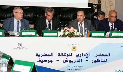 Gestion urbaine: plus de 3.400 dossiers instruits par l'Agence urbaine de Nador-Driouch-Guercif en 2017
