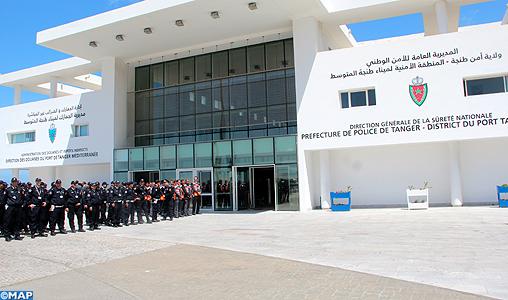 Port de tanger med inauguration du nouveau si ge de la - Place de port disponible mediterranee ...