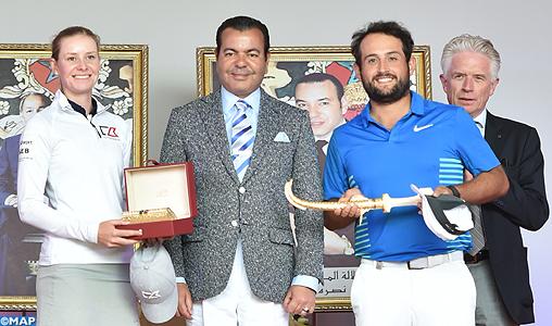 SAR le Prince Moulay Rachid préside la cérémonie de remise des prix de la 45ème édition du Trophée Hassan II de golf et de la 24ème Coupe de SAR la Princesse Lalla Meryem de golf