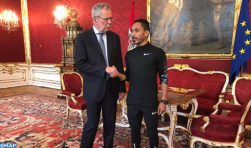 Le coureur marocain Salaheddine Bounasser met fin à la domination des Kényans sur le marathon de Vienne