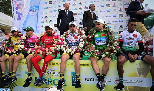 tour du maroc cycliste