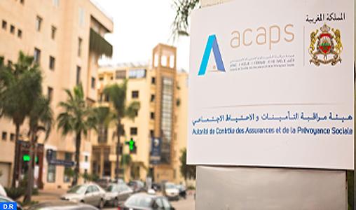 Assurances : Bénéfices en hausse de 25,5% en 2017 (ACAPS)