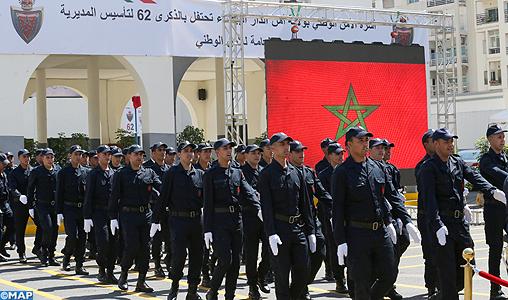 62è anniversaire de la DGSN : hommage appuyé à Casablanca aux efforts de la police pour assurer la sécurité des personnes et des biens