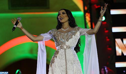 Dounia Batma en clôture du 14-ème festival international de la culture amazighe