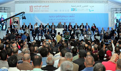 Le 10ème congrès national du PPS souligne la nécessité d'écouter la voix des citoyens et de répondre positivement à leurs revendications légitimes