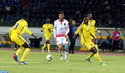 Ligue des champions d'Afrique (Gr.C/2è Jr.): Large victoire du WAC face à l'AS Togo Port de Lomé (3-0)