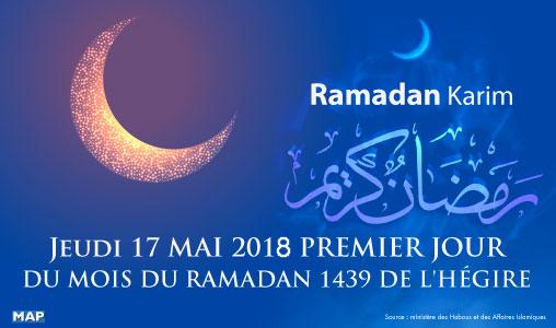 Jeudi, premier jour du mois sacré de Ramadan au Maroc