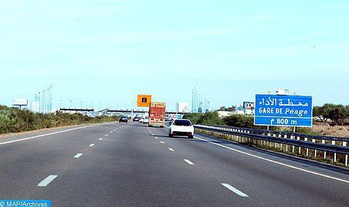 ADM: La circulation entre l'échangeur Témara et celui d'Ain Atiq sera suspendue vendredi de minuit à 04h00 du matin dans les deux sens