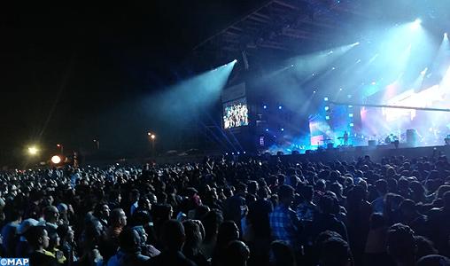La scène OLM-Souissi, le défilé des grosses pointures de la musique internationale