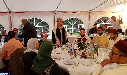Les Marocains du Danemark en Iftar collectif à Copenhague
