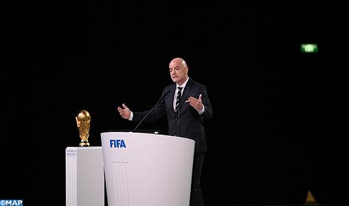FIFA: Le président Infantino annonce qu'il sera candidat à sa réélection en 2019
