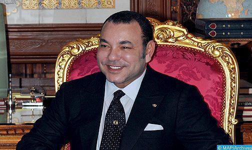 SM le Roi félicite le président russe à l'occasion de la fête nationale de son pays