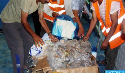 Oujda: Saisie de plusieurs tonnes de produits alimentaires préparés et stockés dans des conditions insalubres
