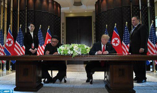 Sommet Trump-Kim: La Russie appelle à la levée des sanctions de l'ONU contre Pyongyang